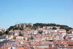 Veduta castillo de Sao Jorge