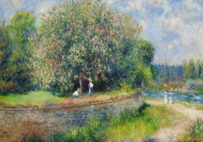 Pierre-Auguste_Renoir_-_Chestnut_Tree_in_Bloom