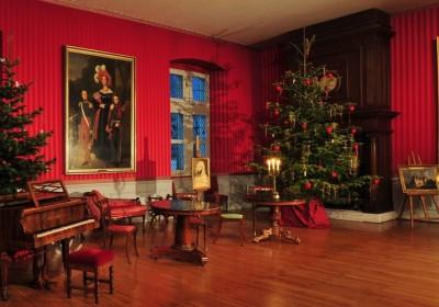 Noël. Salon Château d'Amboise© L. de Serre