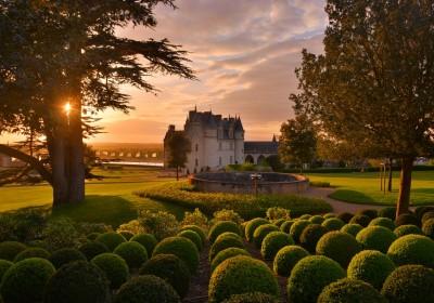 9.9.8 Jardin . Château d'Amboise © L. De Serres